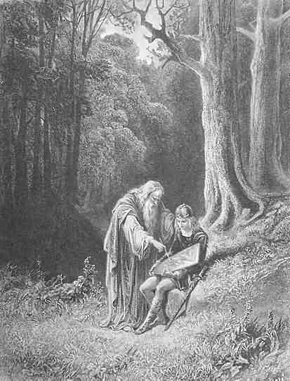 Merlin_paintby-Gustave-Dore